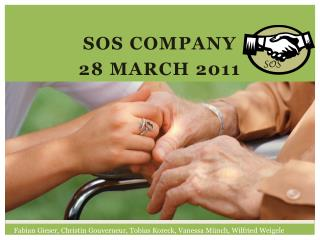 SOS Company 28 March 2011