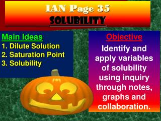 IAN Page 35 Solubility