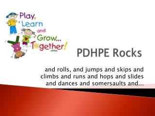 PDHPE Rocks
