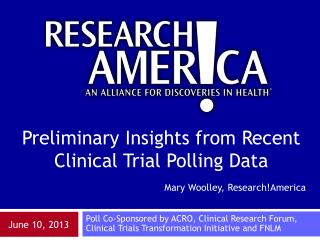 Mary Woolley, Research!America