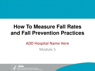 Fall Protection Systems and Methods   Module 5