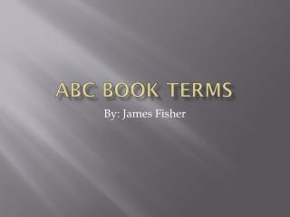 ABC Book Terms