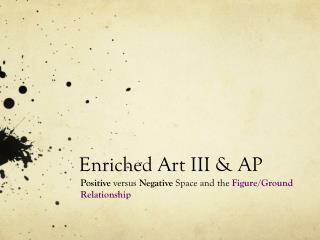 Enriched Art III & AP
