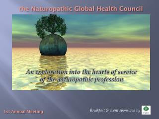 the Naturopathic Global Health Council