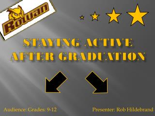 Staying Active After Graduation