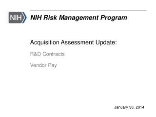 NIH Risk Management Program