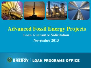 Advanced Fossil Energy Projects