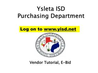 Ysleta  ISD Purchasing  Department