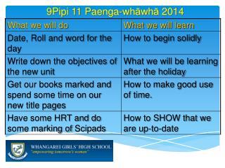 9Pipi 11  Paenga-wh ā wh ā  2014