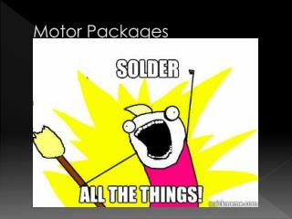 Motor Packages