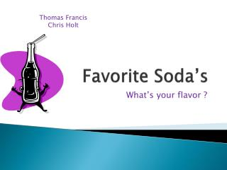 Favorite Soda's