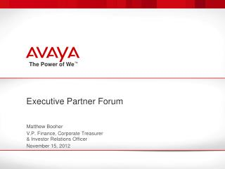 Executive Partner Forum