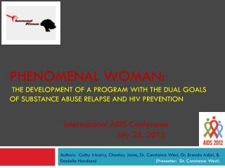 International AIDS Conference    July 25, 2012