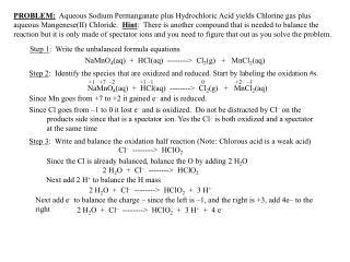 Step 1 :  Write the unbalanced formula equations