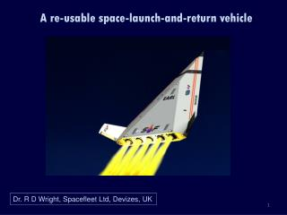 A re-usable space-launch-and-return vehicle