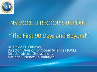 NSF/OCE DIRECTOR'S REPORT: