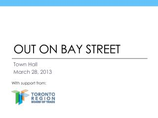 Out On Bay Street