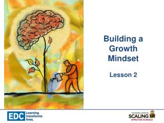 Building a Growth Mindset Lesson 2