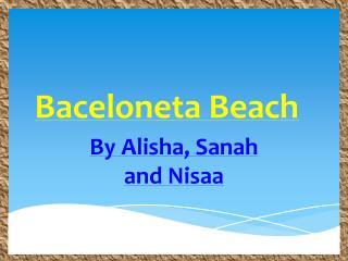 Baceloneta Beach