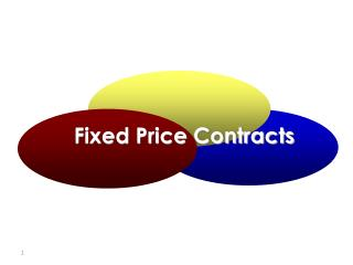 Fixed Price Contracts