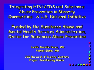 New Educational Tools to Support Drug Prevention Program