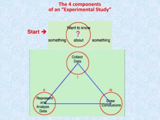 """The 4 components of an """"Experimental Study"""""""