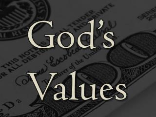 God's Values