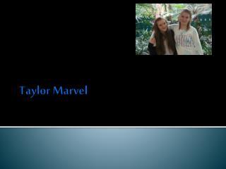 Taylor Marvel