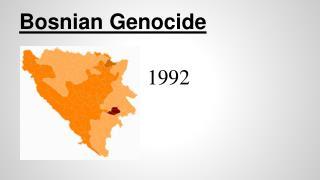 Bosnian Genocide