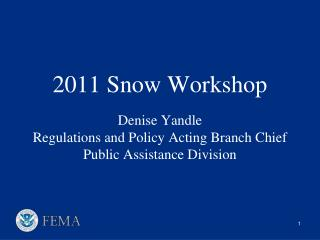 FEMA Regional Administrator Deploys Liaison/IMAT FEMA RRCC Establishes Communications with