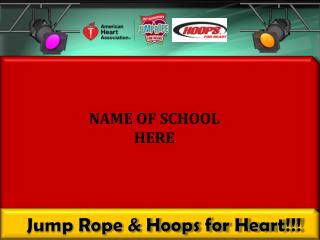 Jump Rope & Hoops for Heart!!!