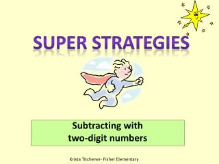 Subtracting with  two-digit numbers