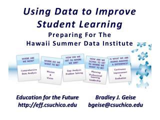 Education for the Future  eff.csuchico