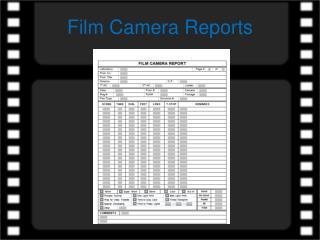 Film Camera Reports