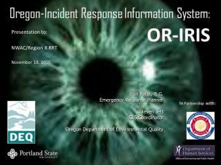 Presentation to: NWAC/Region X RRT November 18, 2010