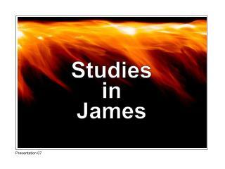Studies in James