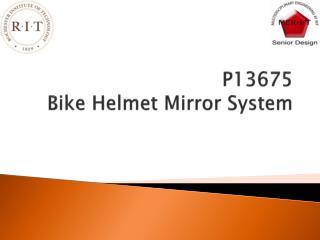 P13675 Bike Helmet Mirror System