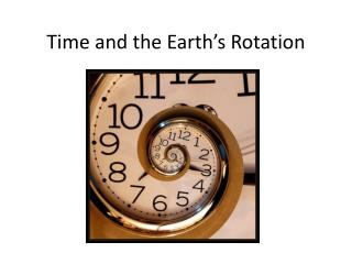 Time and the Earth's Rotation