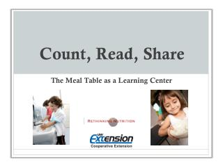Count, Read, Share
