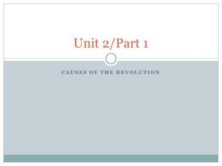 Unit 2/Part 1