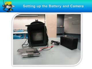 Setting up the Battery and  Camera