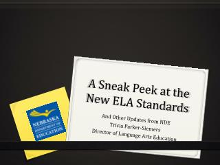 A Sneak Peek at the New ELA Standards