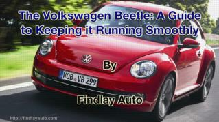 ppt 41972 The Volkswagen Beetle A Guide to Keeping it Running Smoothly