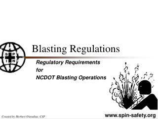 Blasting Regulations