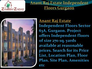 | Anant Raj Estate Sector 63A, Gurgaon