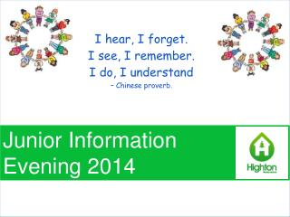 Junior  Information  Evening 2014