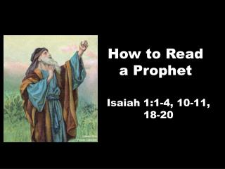 How to Read a Prophet