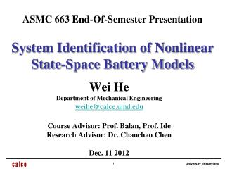 System Identification of Nonlinear State-Space Battery Models
