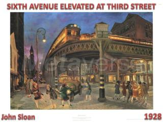 SIXTH AVENUE ELEVATED AT THIRD STREET