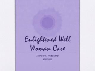 Enlightened Well Woman Care